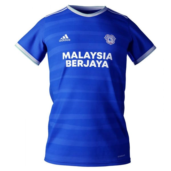 Thailande Maillot Football Cardiff City Domicile 2020-21 Bleu