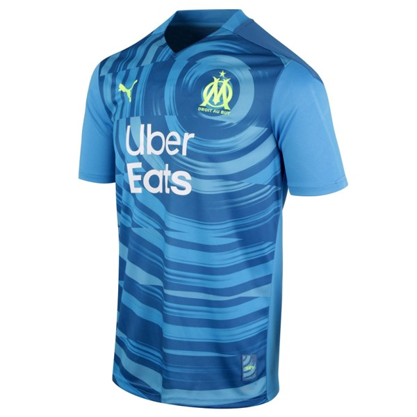 Thailande Maillot Football Marseille Third 2020-21 Bleu