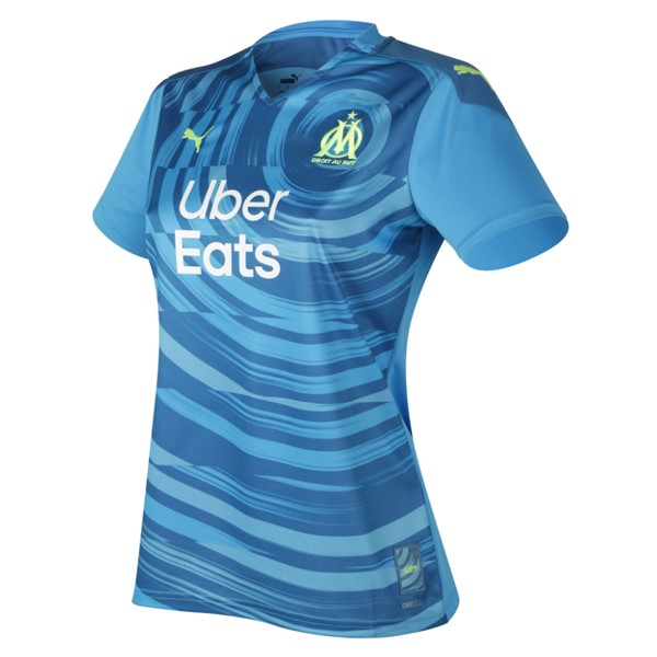 Maillot Football Marseille Third Femme 2020-21 Bleu