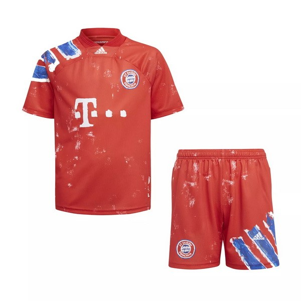 Maillot Football Bayern Munich Human Race Enfant 2020-21 Rouge