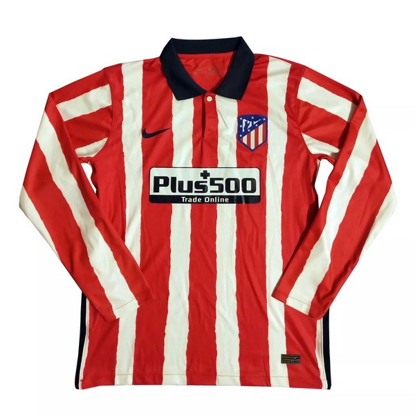 Thailande Maillot Football Atletico Madrid Domicile ML 2020-21 Rouge