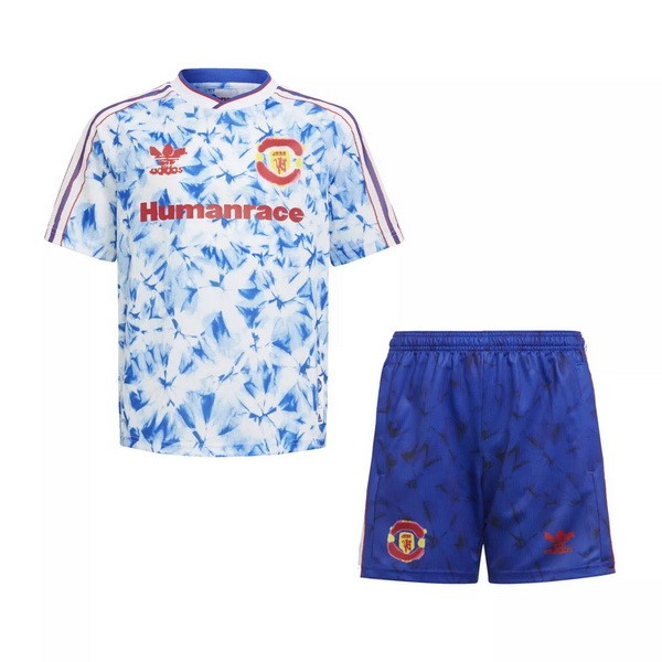 Maillot Football Manchester United Human Race Enfant 2020-21 Bleu