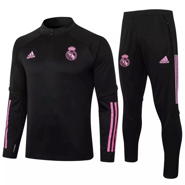 Survetement Real Madrid 2020-21 Noir Rose