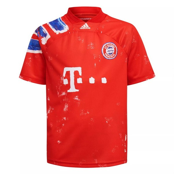 Thailande Maillot Football Bayern Munich Human Race 2020-21 Rouge