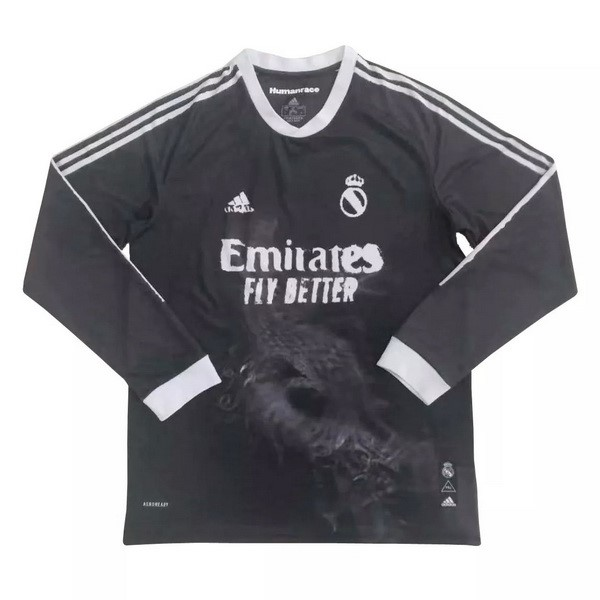 Thailande Maillot Football Real Madrid Human Race ML 2020-21 Noir