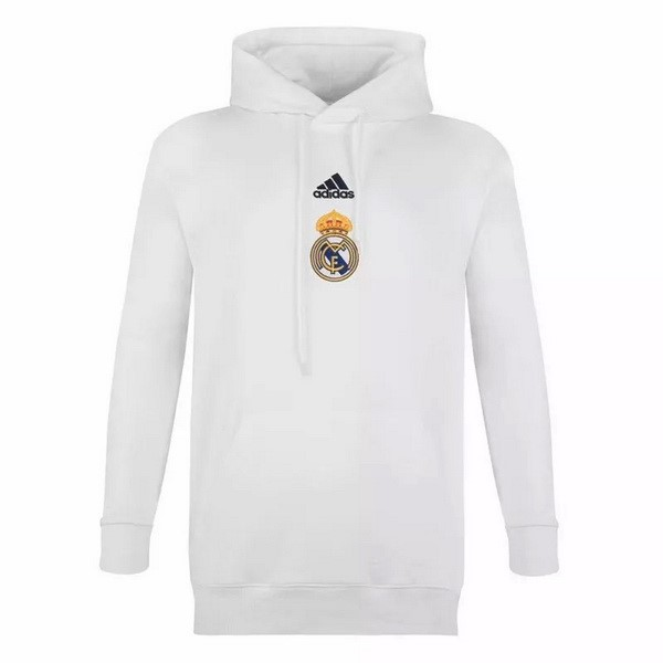 Sweat Shirt Capuche Real Madrid 2020-21 Blanc