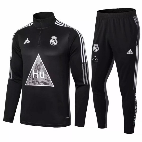 Survetement Real Madrid 2020-21 Noir Gris