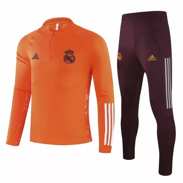 Survetement Real Madrid 2020-21 Orange