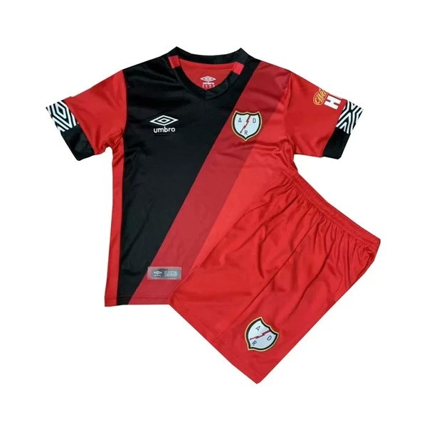 Maillot Football Rayo Vallecano Third Enfant 2020-21 Rouge
