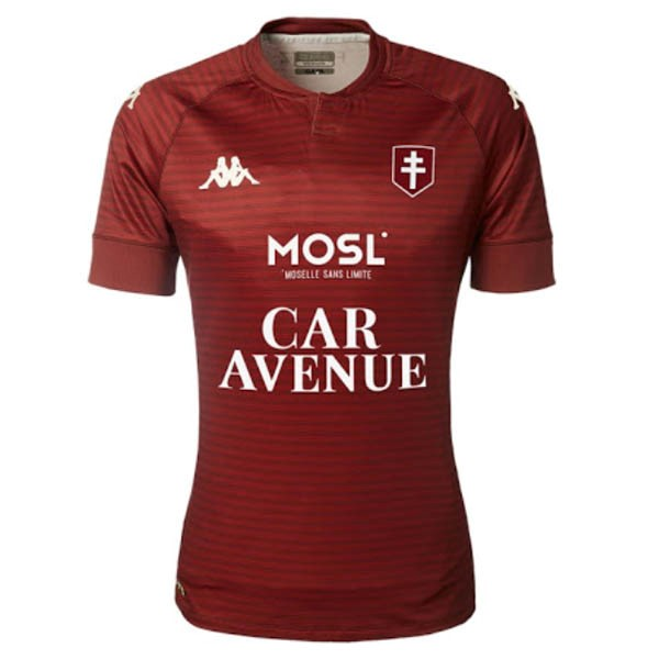 Maillot Football Metz Domicile 2020-21 Rouge