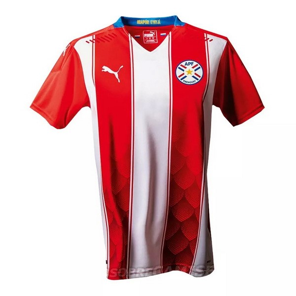 Maillot Football Paraguay Domicile 2020 Rouge