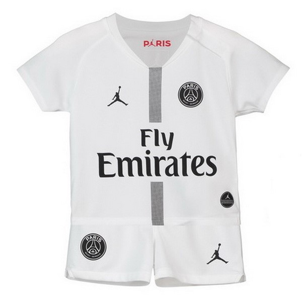Maillot Football Paris Saint Germain Third Enfant 2018-19 Blanc
