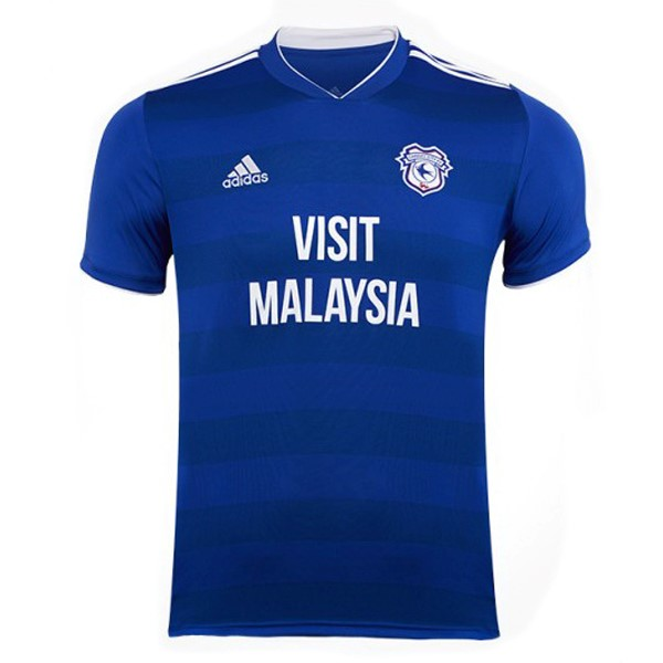 Maillot Football Cardiff City Domicile 2018-19 Bleu