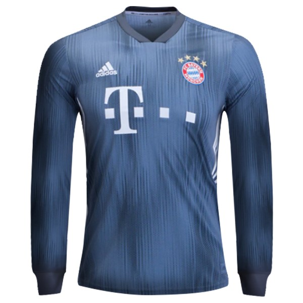 Maillot Football Bayern Third ML 2018-19 Gris Bleu