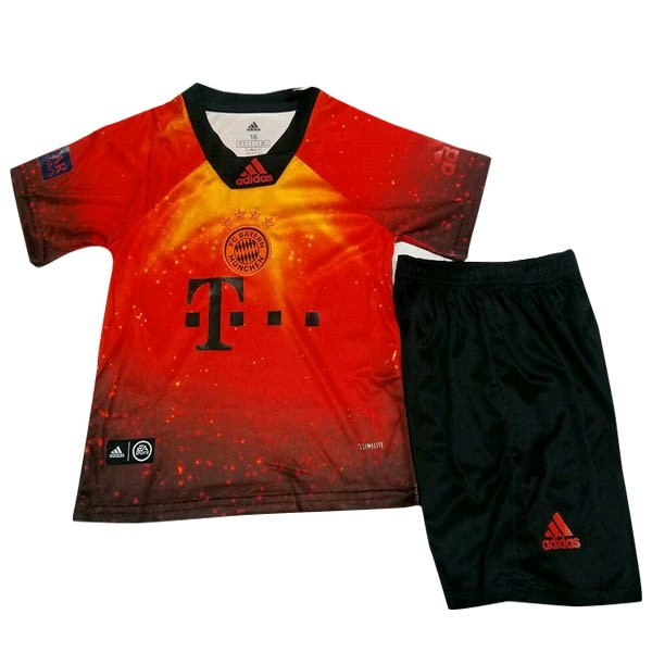 EA Sport Maillot Football Bayern Domicile Enfant 2018-19 Orange