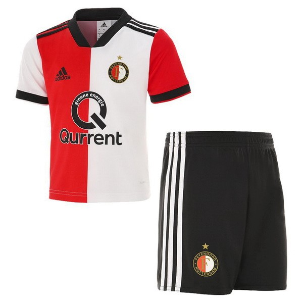 Maillot Football Feyenoord Rotterdam Domicile Enfant 2018-19 Rouge