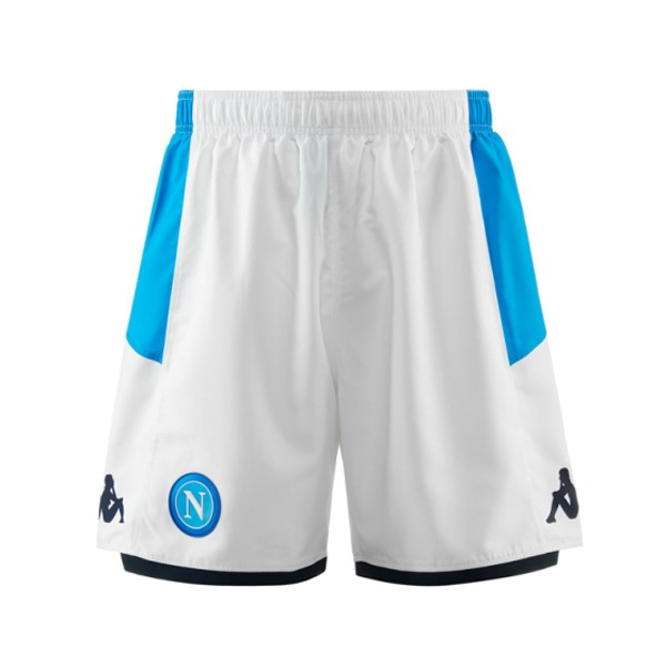 Pantalon Football Naples Domicile 2019-20 Blanc Bleu