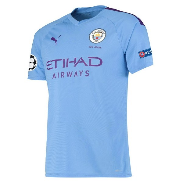 Maillot Football Manchester City Domicile 2019-20 Bleu