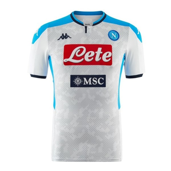 Maillot Football Naples Third 2019-20 Gris