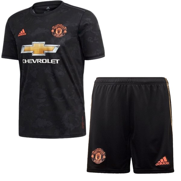 Maillot Football Manchester United Third Enfant 2019-20 Noir