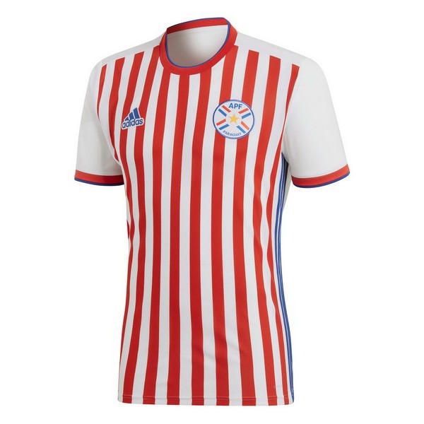 Thailande Maillot Football Paraguay Domicile 2018 Rouge