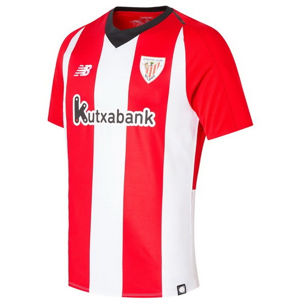 Maillot Football Athletic Bilbao Domicile 2018-19 Rouge Blanc