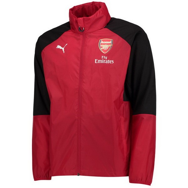Coupe Vent Football Arsenal 2019-20 Rouge Noir