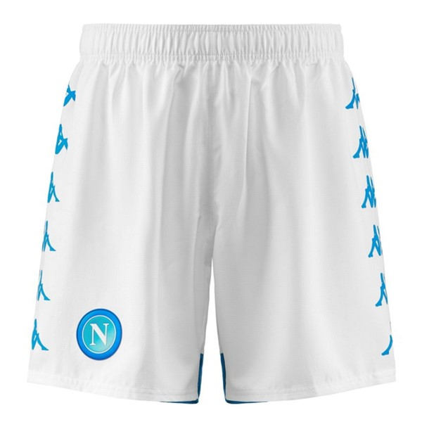 Pantalon Football Naples Domicile 2018-19 Blanc