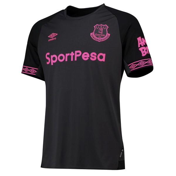 Maillot Football Everton Exterieur 2018-19 Noir