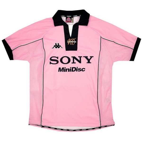 Maillot Football Juventus Exterieur Retro 1997 1998 Rose
