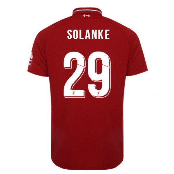 Maillot Football Liverpool Domicile Solanke 2018-19 Rouge