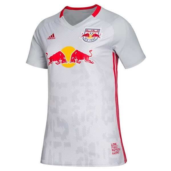 Maillot Football Red Bulls Domicile Femme 2019-20 Blanc