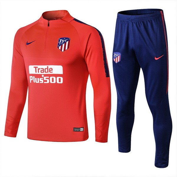 Survetement Football Atletico Madrid 2018-19 Rouge Clair