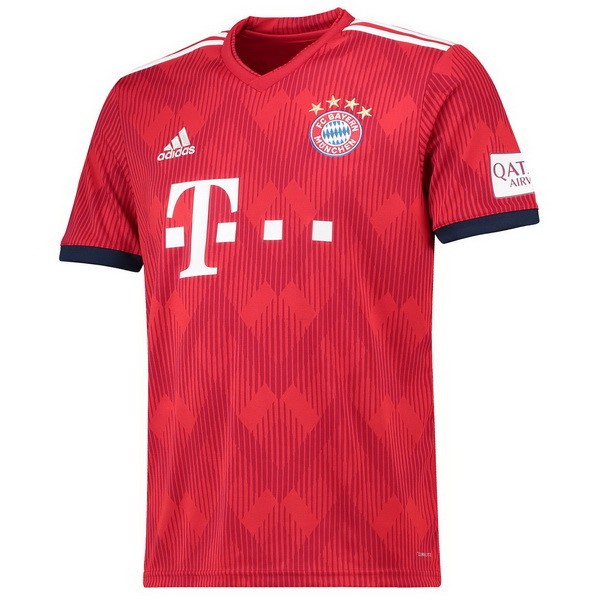 Maillot Football Bayern Domicile 2018-19 Rouge