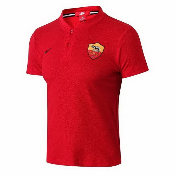 Polo AS Roma 2018-19 Rouge