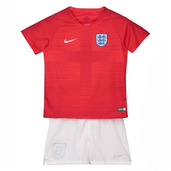 Maillot Football Angleterre Exterieur Enfant 2018 Rouge