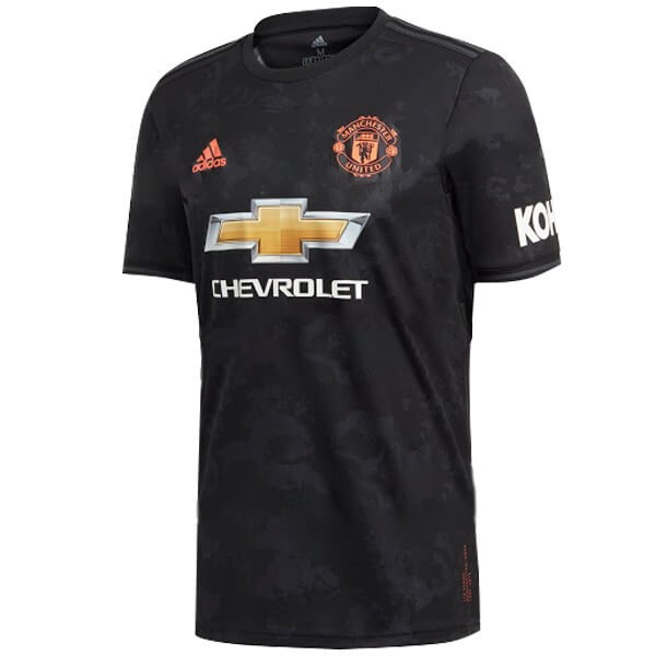 Thailande Maillot Football Manchester United Third 2019-20 Noir