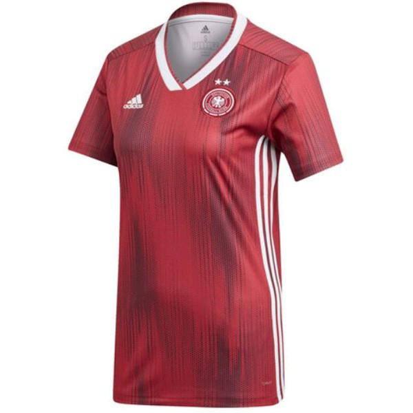 Maillot Football Allemagne Exterieur Femme 2019 Rouge