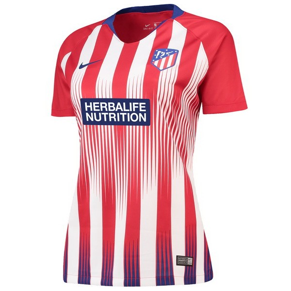 Maillot Football Atlético Madrid Domicile Femme 2018-19 Rouge