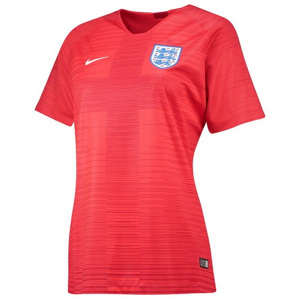 Maillot Football Angleterre Exterieur Femme 2018 Rouge
