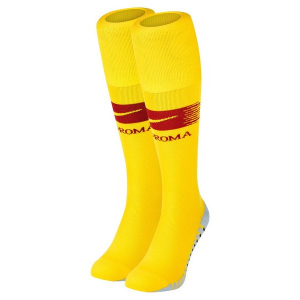 Chaussette Football AS Roma Domicile 2018-19 Jaune