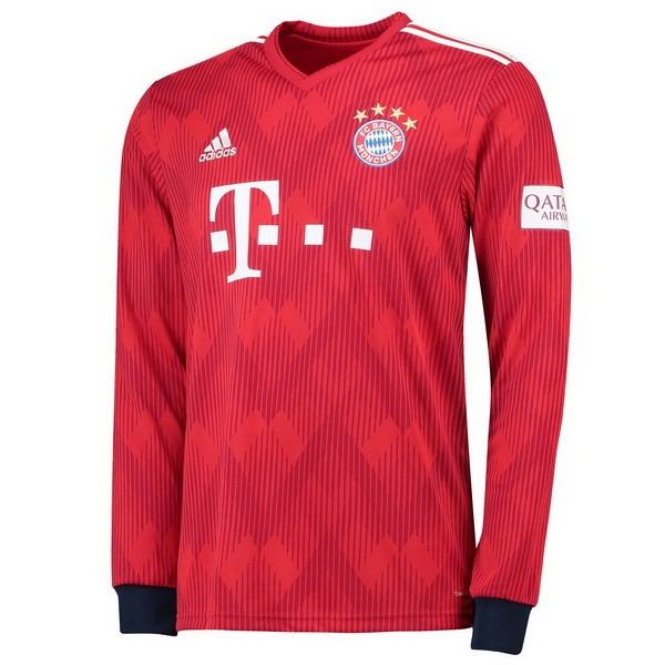Thailande Maillot Football Bayern Domicile ML 2018-19 Rouge