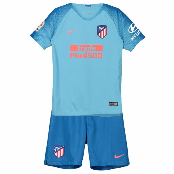 Maillot Football Atletico Madrid Exterieur Enfant 2018-19 Bleu