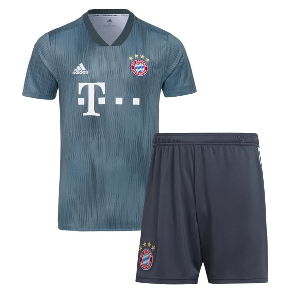 Maillot Football Bayern Third Enfant 2018-19 Gris