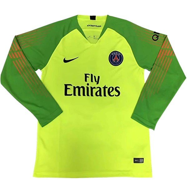 Maillot Football Paris Saint Germain ML Gardien 2018-19 Vert