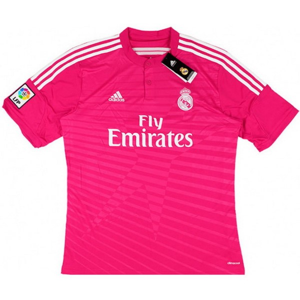 Maillot Football Real Madrid Exterieur Retro 2014 2015 Rose