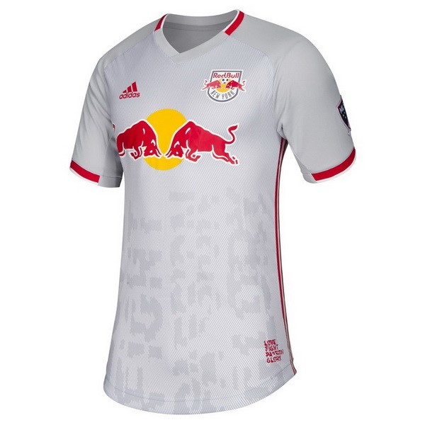 Maillot Football Red Bulls Domicile 2019-20 Blanc