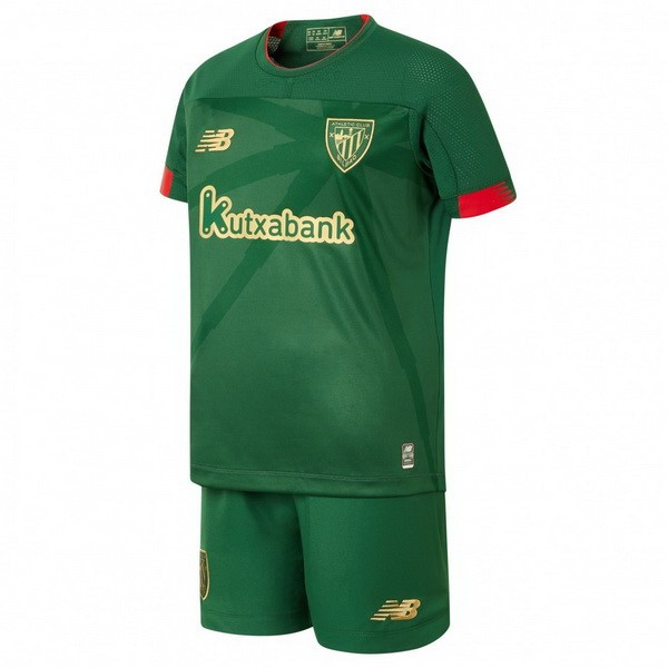 Maillot Football Athletic Bilbao Exterieur Enfant 2019-20 Vert