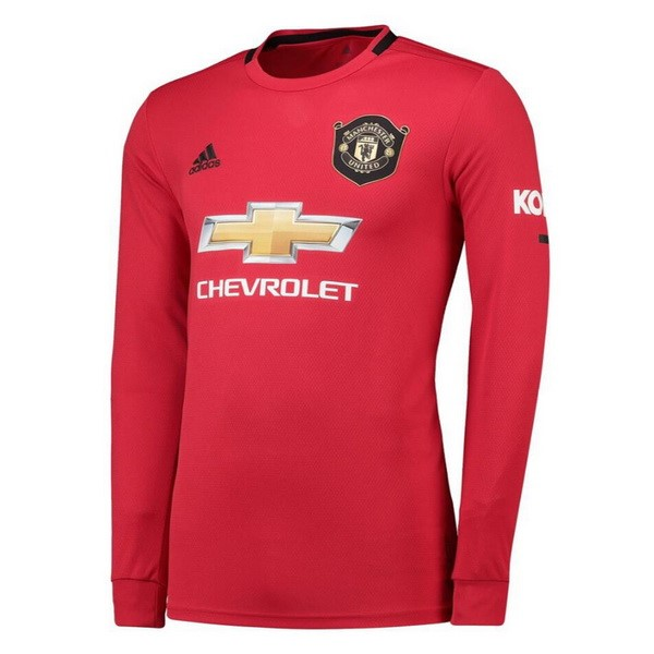 Maillot Football Manchester United Domicile ML 2019-20 Rouge