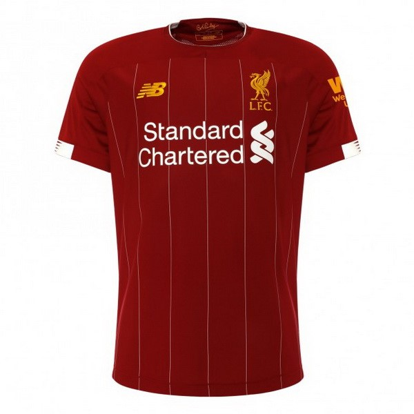 Thailande Maillot Football Liverpool Domicile 2019-20 Rouge